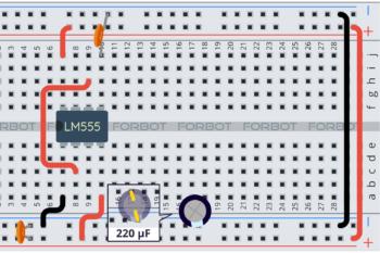 Krok 2: kondensator C3