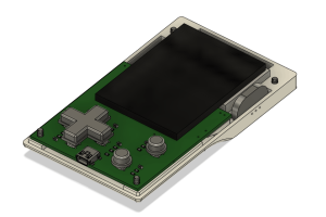 Mini konsolka do gier na STM32