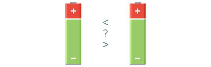 Jak porównać napięcie dwóch baterii AA?