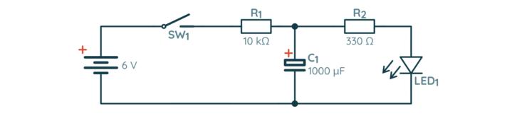 Schemat układu imitującego działanie PWM