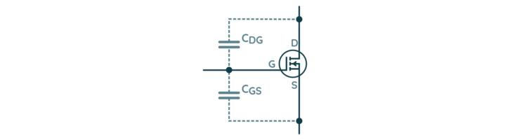 Pojemności tranzystora MOSFET