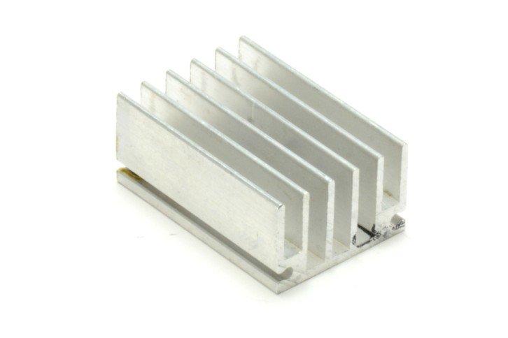 Przykładowy radiator – element odprowadzający ciepło