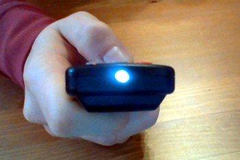 Świecąca dioda IR okiem aparatu cyfrowego