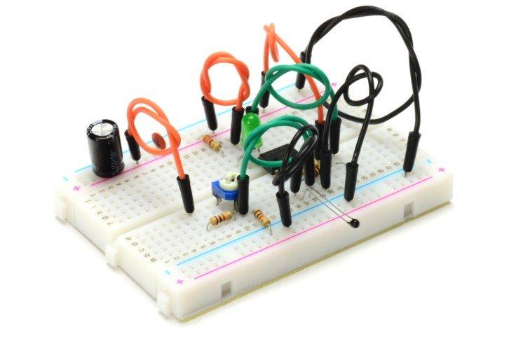 Gotowy termostat na bazie komparatora i termistora