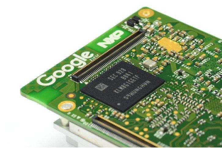 Google Coral w formie modułu SOM