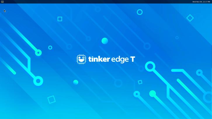 System Mendel zainstalowany na Asus Tinker Edge T