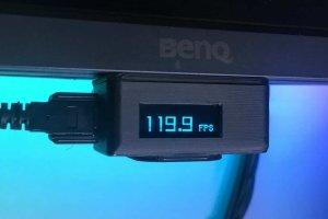 Kompaktowy wyświetlacz FPS
