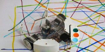 Robot artysta pod kontrolą Arduino UNO