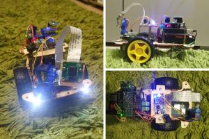 Przeróbka robota z kursu budowy robotów