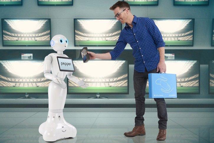 Słynny robot Pepper sprzedawany przez SoftBank Group