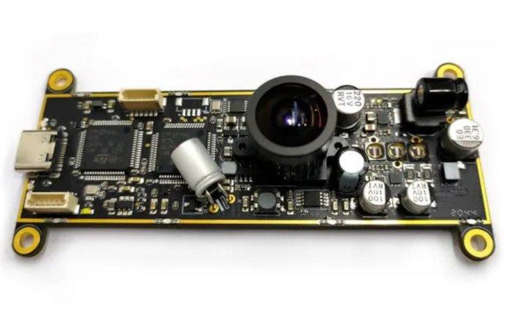 Budowa kamery Onion Tau