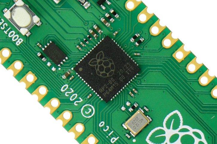 Malinowy mikrokontroler Raspberry Pi RP2040