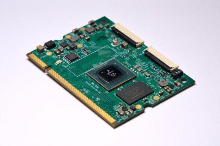 Płytka z procesorem ARM Cortex A53 na pokładzie
