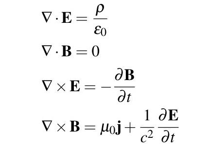 Tzw. postać różniczkowa równań Maxwella
