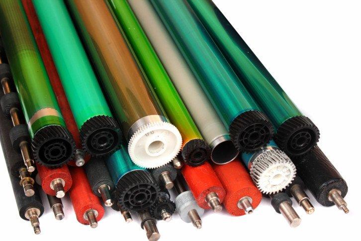 Bębny światłoczułe stosowane w drukarkach laserowych