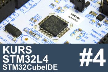 Kurs STM32L4 – #4 – komunikacja przez UART, debugger