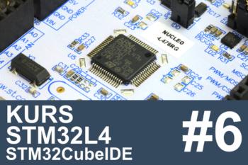 Kurs STM32L4 – #6 – oszczędzanie energii (5 lat na baterii?)