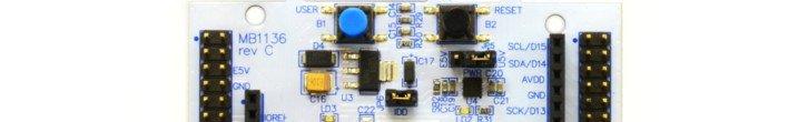 Zworka JP6 (IDD), dzięki której możemy zmierzyć pobór prądu mikrokontrolera