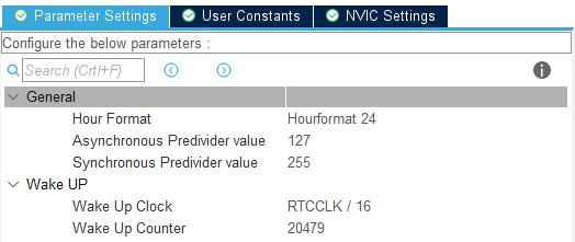 Nowe ustawienia modułu RTC w STM32L4