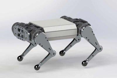 Wolfie - czteronożny robot kroczący