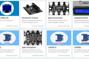 Wyświetlacz LCD I2C do Micro:bit