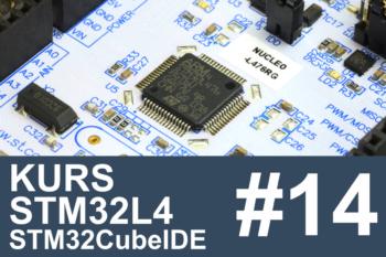 Kurs STM32L4 – #14 – czujnik odległości, wyświetlacz 7-seg.