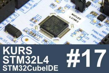 Kurs STM32L4 – #17 – termometry DS18B20 (1-wire, UART)