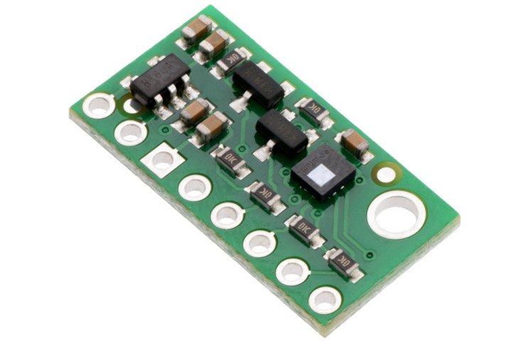Moduł z czujnikiem LPS25HB (zdjęcie producenta, w zestawie znajduje się moduł z wlutowanymi złączami)